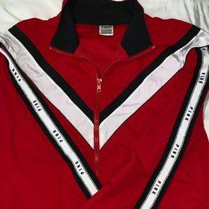 Pink red anorak full zip 🤩